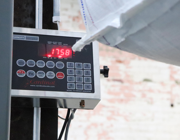 Cardinal Scale's 210 indicator with a variety of option cards available for multiple applications.