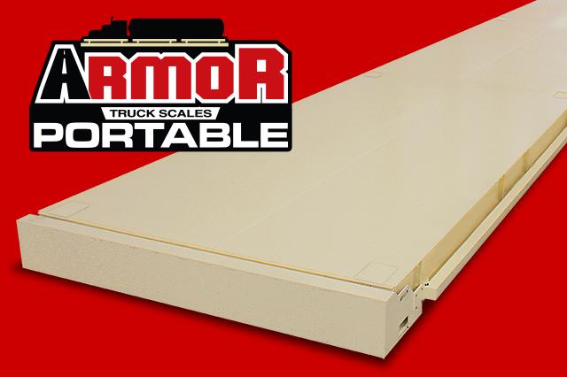 Cardinal Scale's ARMOR Portable Digital Truck Scale