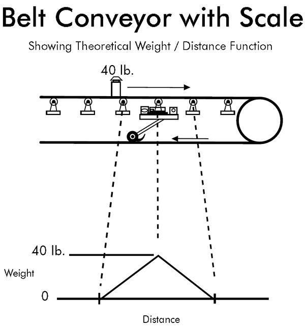 Belt Conveyor with Scale