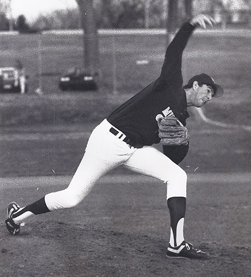 Chuck's superb pitching helped MSSU reach the Division II College World Series in 1991 and 1992.