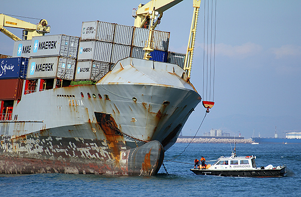 SOLAS (Safety Of Life At Sea) regulations require that the declared weight of all shipping containers be verified before transport to avoid shipping incidents.