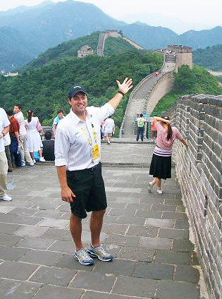 The Great Wall of China (2008): Sam made a trip to the Great Wall of China while hosting the GE Board of Directors trip at the 2008 Beijing Olympics.